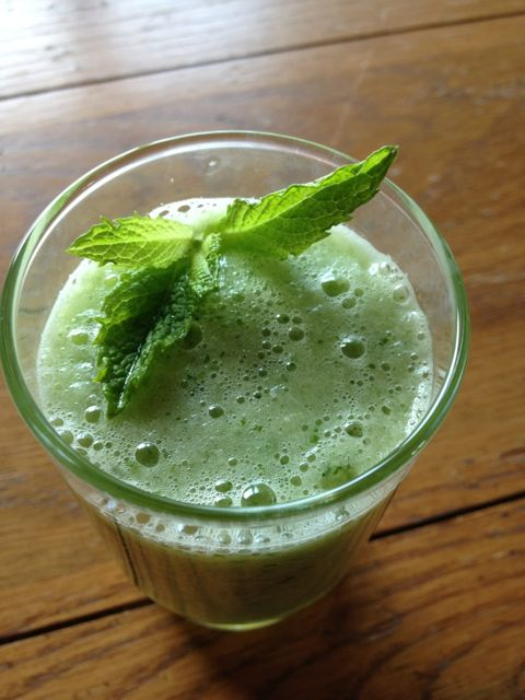 Healthy Recipe – Minted Honeydew Cooler