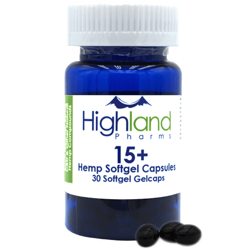 Highland Pharms CBD capsules 15mg
