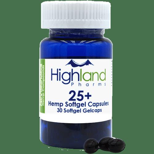 Highland Pharms 25mg Softgel Capsule