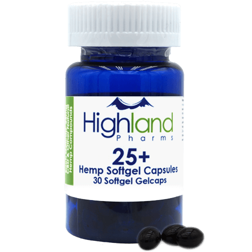 Highland Pharms 25mg CBD Capsules