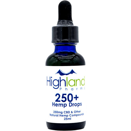 Highland Pharms 250mg CBD Hemp Oil – 1oz