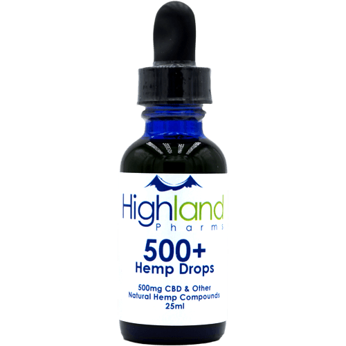 Highland Pharms 500mg CBD Oil Drops