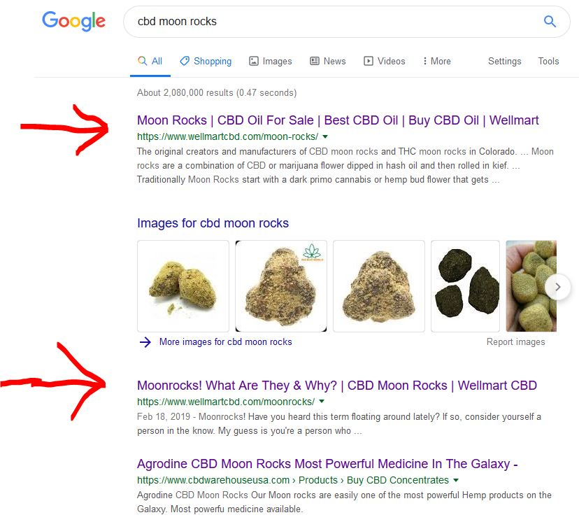 proof of high ranking cbd affiliate company
