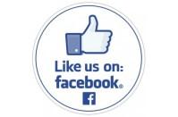Like us on Facebook Stickers