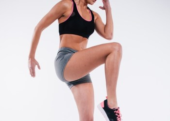 Knee to elbow workout