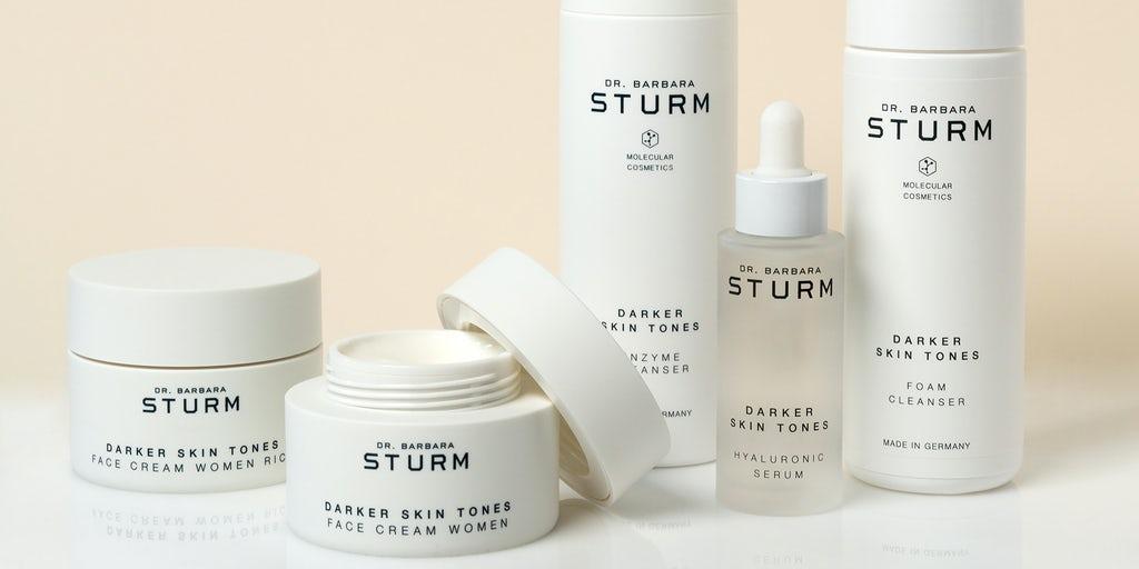 darer skintone face cream