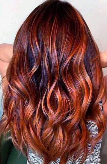 copper rusty hair color
