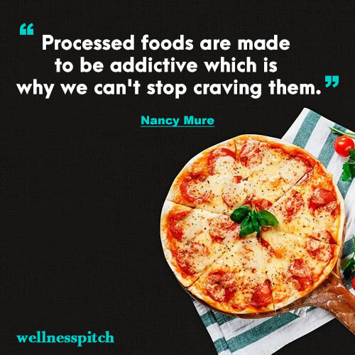 Processed foods are made to be addictive which is why we can't stop craving them