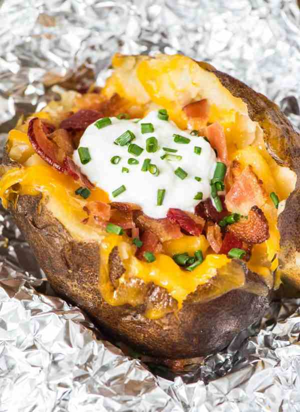 How to Make Crock Pot Baked Potatoes | Well Plated by Erin