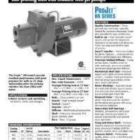 "Sta-Rite HNC 1/2 H.P. 1/115-220V, Shallow Well Jet Pump with a 1"" discharge."
