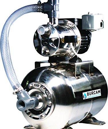 BurCam 506547SS SW Stainless Steel Jet Pump & Tank, Ml25H 3