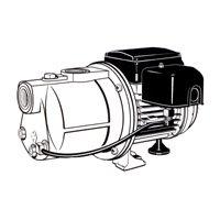 SIMER GIDDS-704002 Shallow Well Pump 1/2 hp