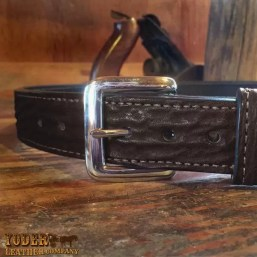 Shark Black Money Belt