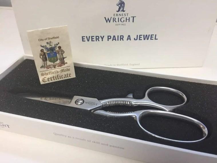 Ernest Wright Turton scissors