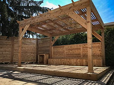Landscaping Oakville Burlington Pergolas
