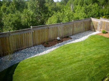landscape-Oakville backyard design