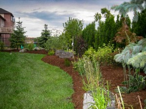 landscape-Oakville garden design and maintenance