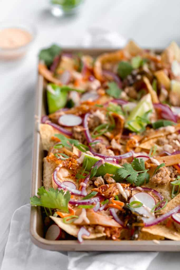 Banh Mi Sheet Pan Nachos