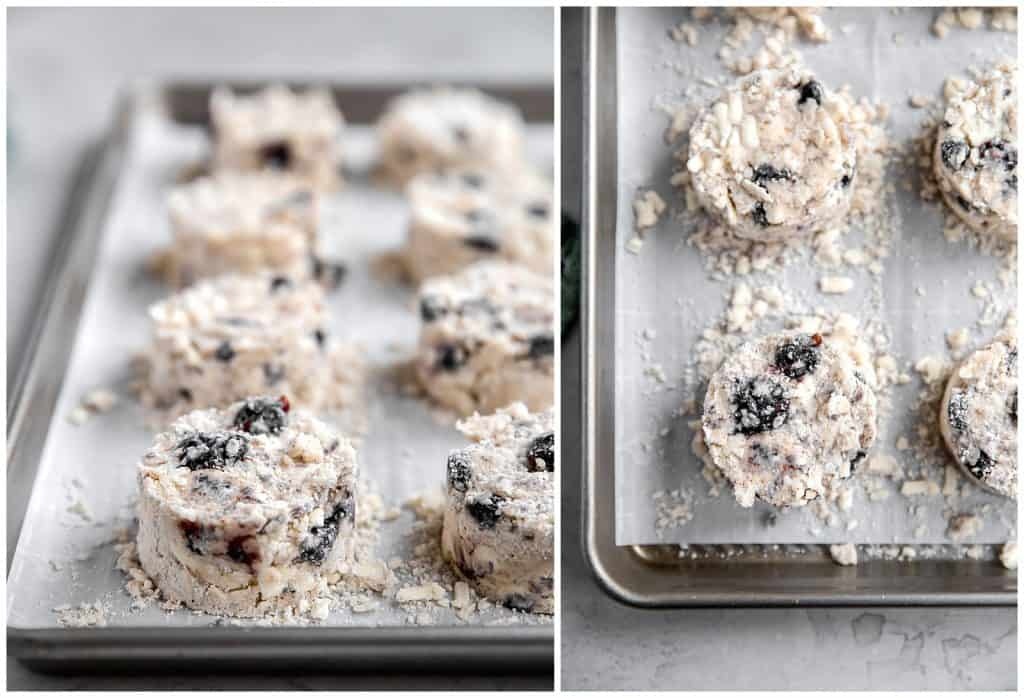 how to make blueberry scones