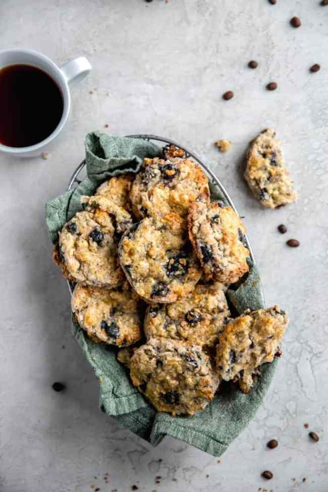 make ahead blueberry scones