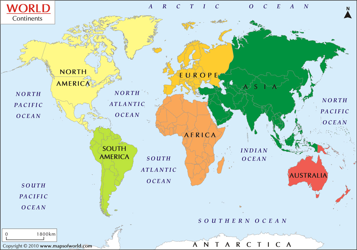 How Many Continents Have You Travelled To