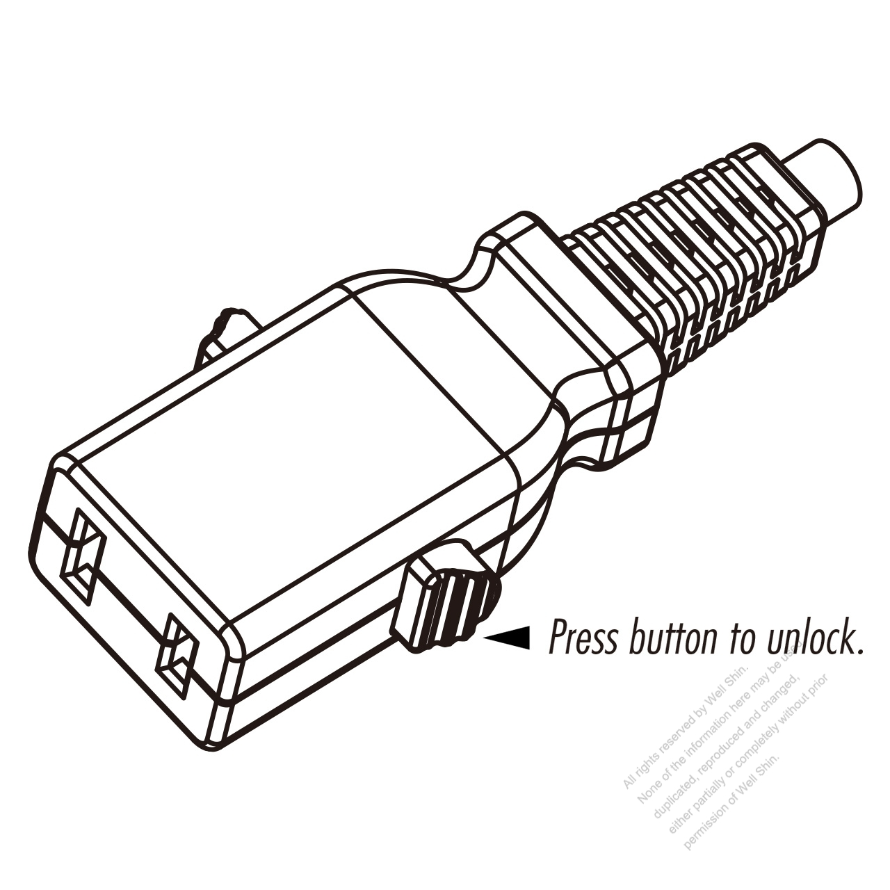 Taiwan Ac Connector 2 Pin 3a 15a 125v