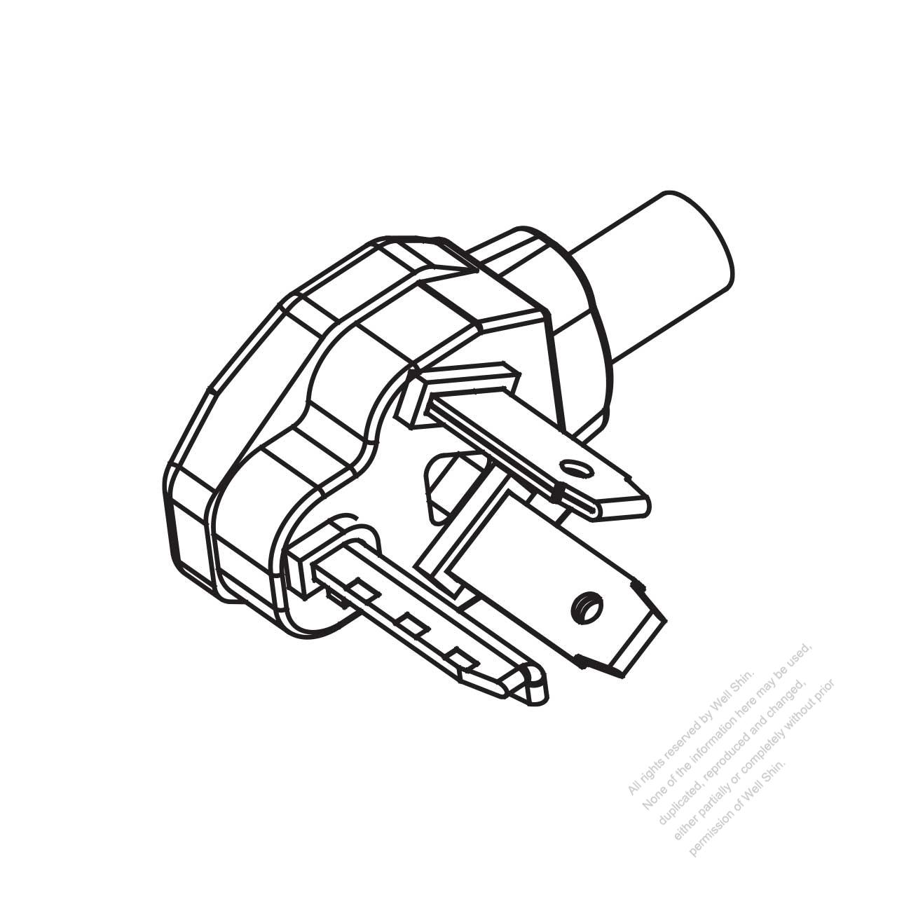 Usa Canada Nema 10 30p 3 P 3 Wire Non Grounding Elbow