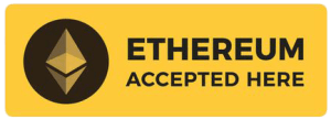 We Accept Ether For CBD Products