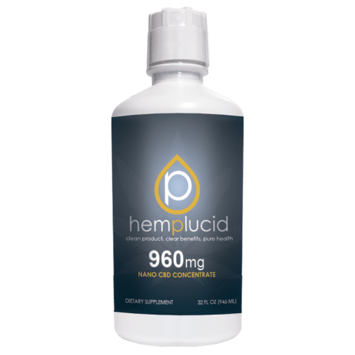960mg Hemplucid Nano CBD Concentrate Water Soluble