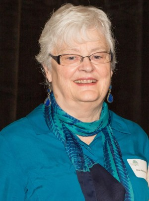 Jean Koulak-Young at last year's Women Honoring Women Luncheon.