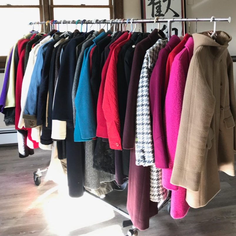 Cape Ann Chamber of Commerce Businesswomen's Group Collects Women's Coats for Wellspring
