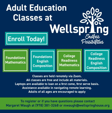 Registration is now open for ourSpringAdult EducationClasses