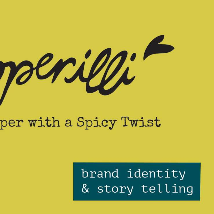 Brand identity for product story telling
