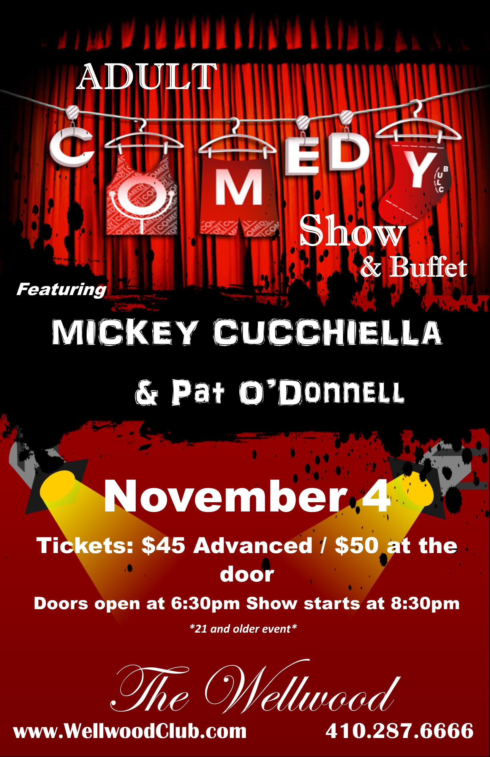 Comedy Show Charlestown MD
