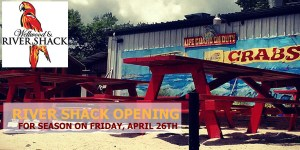 The River Shack Will Open April 2th for the Season