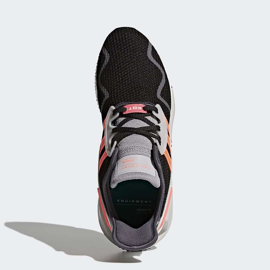 아디다스 EQT 쿠션 ADV 그레이, 블랙&핑크 (adidas EQT Cushion ADV Grey, Black & Pink) 5