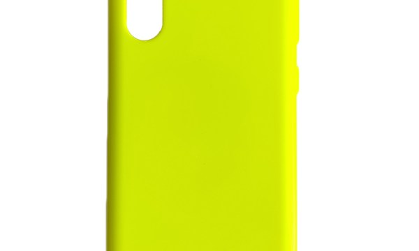 Jelly Cover Galaxy Note 10 Lumo Yellow
