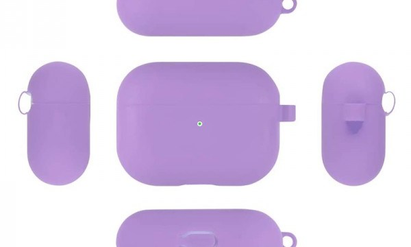 Slim Silicone Case For Apple AirPods Pro Purple