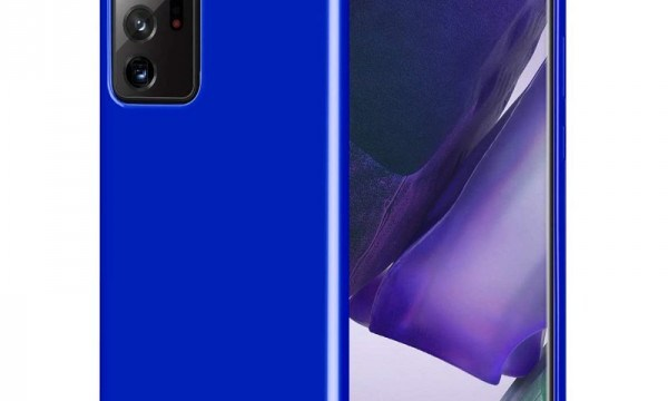 Jelly Cover for Galaxy Note 20 Ultra Royal Blue