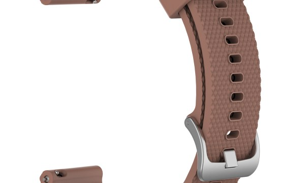 Silicone Watch Strap Band Garmin Vivoactive 3 20mm Brown