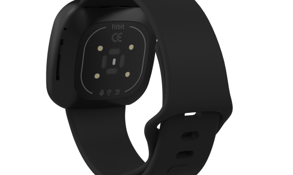 Fitbit Versa 3 & Sense Silicone Watch Strap Band Black