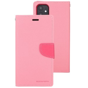 """Fancy Diary Cover iPhone 12 Mini 5.4"""" Pink"""