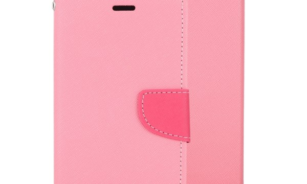 "Fancy Diary Cover iPhone 12 Mini 5.4"" Pink"