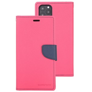 """Fancy Diary Cover iPhone 12 / 12 Pro 6.1"""" Pink"""