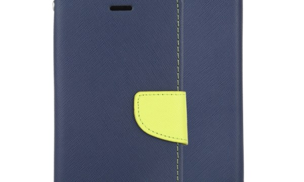 "Fancy Diary Cover iPhone 12 / 12 Pro 6.1"" Navy"