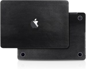 Leather Skin Decal For MacBook Pro 16 inch 2019 Black