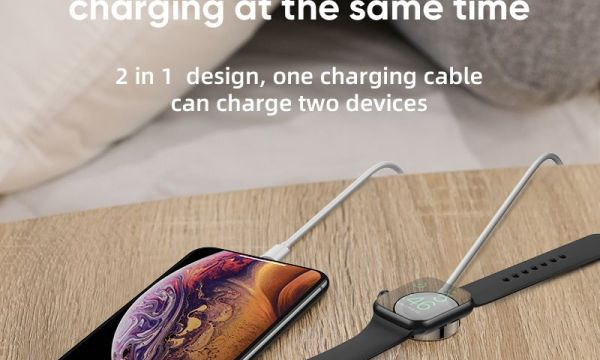 Joyroom Charger Cable For Apple Watch and iPhone 1.5m Cable