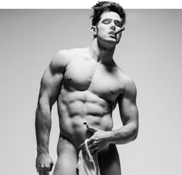 male model Victor Galvez by Joan Crisol