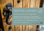 Wagtail Joinery Ltd