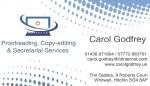 Carol Godfrey Business Card